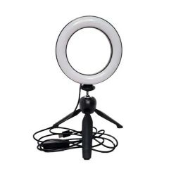 Kit Ring Light de Mesa 6""
